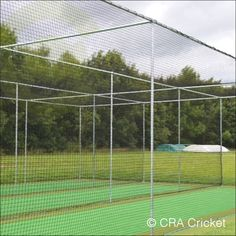 For schools and smaller cricket clubs we have two types of cages. Steel freestanding and fixed in ground singles or doubles. Fixed in ground cricket cages require ground sockets to be constructed for the cage feet. A freestanding cage is a stand alone frame, and a non permanent structure, making it ideal for practical use. Steel cricket cages feature heavy duty exterior 16z cricket netting as per club cages specific for cricket use. Full roof with canvas blinkers and anti litter skirt…