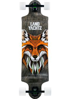 Landyachtz Switch-35, Longboard-Complete, black-red Titus Titus Skateshop #LongboardComplete #Skateboard #titus #titusskateshop