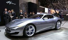 Maserati Looks To Future With Alfieri 2+2 Concept: Click to see the preview video! They can just make me one. No need for a full production line ;)