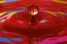 Water Drop by Michael Friske on Capture Wisconsin // Flash Photography