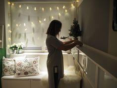 À luz do Natal. #Natal #decoração #bloggers #ikeaportugal