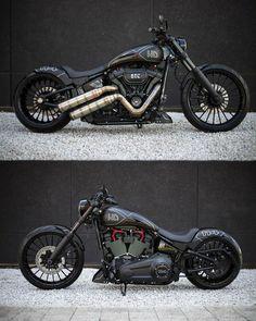 Harley Davidson Custom - Past,present,future - Motorrad Harley Davidson Chopper, Harley Davidson Sportster, Harley Davidson Custom, Harley Davidson Roadster, Bobber Motorcycle, Cool Motorcycles, Motorcycle Style, Custom Bobber, Custom Harleys