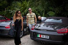 Estela Calderón y Erik Rubin llegan a Tulum después de vivir la experiencia del #NuevoBoxster