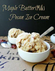 Maple Buttermilk Pecan Ice Cream | pastrychefonline.com/?p=8… | Flickr