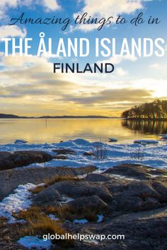 The Åland Archipelago consists of nearly three hundred habitable islands, with 80 of them inhabited. Finland Destinations, Travel Destinations, Travel Europe, Travel Tips, Croatia Travel, Travelling Tips, Travel Plan, European Travel, Holiday Destinations