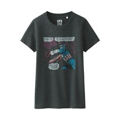 WOMEN MARVEL Collection Short Sleeve Graphic T-Shirt - UNIQLO UK Online fashion store