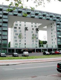 Parkrand Amsterdam - MVRDV Amsterdam Architecture, Social Housing, Utrecht, Public, Gardens, Tours, Interiors, Flat, World