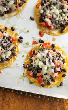 A deliciously quick gluten-free meal using Progresso™ black beans Gf Recipes, Healthy Eating Recipes, Gluten Free Recipes, Vegetarian Recipes, Healthy Eats, Veggie Snacks, Healthy Cholesterol Levels, Banana Pudding Recipes, Gluten Free Cooking