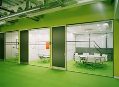 Small meeting room space at Electric Works in Sheffield UK