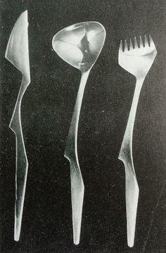 Sterling silver flatware - Robert Welch