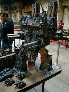 phantomsolari:  Imperator Titan from Warhammer World.wow…