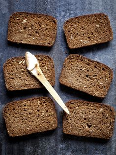 A Simple Danish Rye Bread. Recipe by Simon Bajada from his new cookbook The New Nordic published by Hardie Grant. Photo and styling – Simon Bajada.