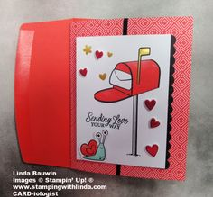 #paperpumpkin #valentinedaycards #lindabauwin Little Valentine, Valentine Day Cards, Valentines, Comidas Fitness, Love Box, Glue Dots, Paper Pumpkin, Cool Cards, Greeting Cards Handmade