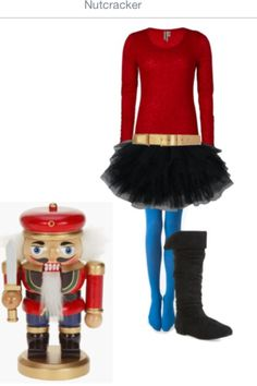 christmas costumes nutcracker Nutcracker Costume - I have all these things in my closet right now ! Ugly Sweater, Ugly Christmas Sweater, Diy Christmas Costumes, Halloween, Toy Soldier Costume, Nutcracker Costumes, Running Costumes, Christmas Scenes, Christmas Mood