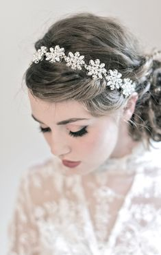 Wedding Hair Crystal Bridal Hairpiece Accessory - Sparkling and Elegant