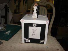 Superbe urne originale de mariage, modèle unique : Boîtes, coffrets par chezkry