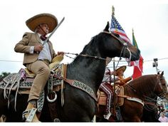 The Grand International Parade was held Saturday in celebration of the 75th anniversary of Charro Days.