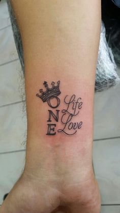 Crown tattoo, letter tattoo, life, love, quotes tattoo, love tattoo, ali baba tattoo, turan baran, bodrum tattoo, bodrum dövme