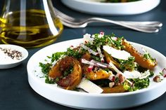Delicata Squash and Kale Salad by Michael Paley