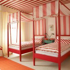 Decoideas: dormitorios dulces http://blog.primeriti.es/decoideas/decoideas-dormitorios-muy-dulces/ #decoración #hogar #home