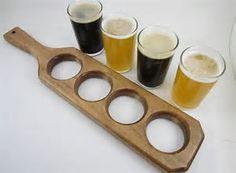 Image result for wooden beer flights