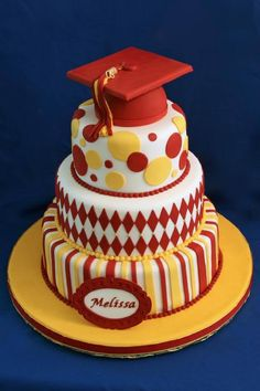 Example of an Iowa State cake/colors