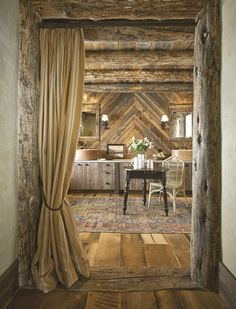 Soften up the Rustic for indoors