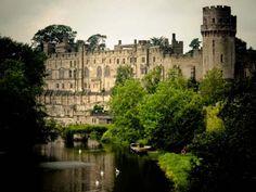 Warwick Castle in England