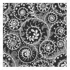 Cover-a-Card Swirl Lace