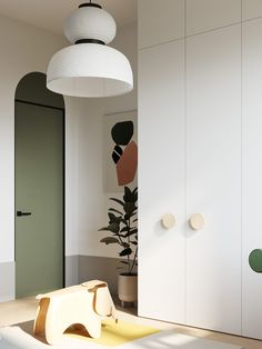 Minimalist Interior, Modern Interior, Interior Design, Kids Bed Design, Deco Kids, Kid Spaces, Kid Beds, Kids Bedroom, Room Decor