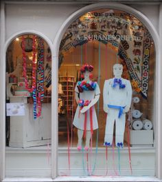 Frida Kahlo Fiesta Wedding Window | Celebrating Bloom 2014 with a Fabulously Floral Display!