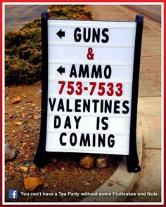 "LOL - there are some crazies out there! Nothing says ""I love you"" like an AK-47"
