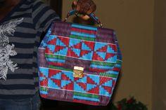 Kente Ankara Bag
