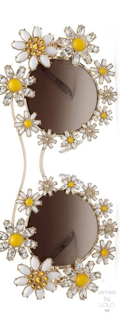 Dolce & Gabbana Margherite Sunglasses | LOLO❤︎