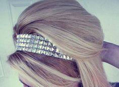 studded headband <3