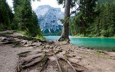 Bolzano Itália -lago di Braies