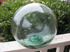 Chinese Glass Fishing Float  9 diameter Oregon by GlassFloatJunkie, $44.99