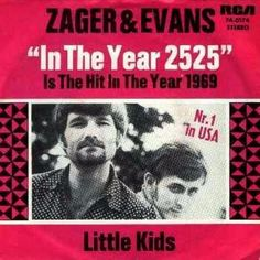 """25 One Hit Wonders and Where They Are Now: Zager and Evans - """"In the Year - 1969 In The Year 2525, 1990s Music, Greatest Album Covers, Guitar Images, Pop Charts, Bad Album, Psychedelic Music, One Hit Wonder, Great Albums"""