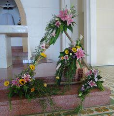 Mẫu cắm hoa trong Phụng vụ (4)
