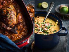 5 galet goda grytor Halloumi, Naan, Couscous, Chorizo, Love Food, Stew, Crockpot, Slow Cooker, Yummy Food