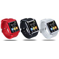 Bluetooth Smart Watch with Phone Pairing, Pedometer, Sleep Monitoring & More - Assorted Colors - DailySale