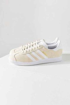 adidas Originals Gazelle Sneaker. Urban Outfitters. Ivory.
