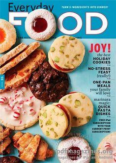 Everyday Food Magazine, December 2012 (recipe index)