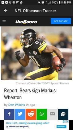 BEARS SIGN MARCUS WHEATON