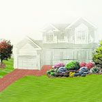 """This is a perfect landscaping idea for my yard, from Better Homes and Gardens. I am suppose to include why for my dream home. I already have my """"dream home"""". What makes it that is the life that is it. Better Homes and Gardens can just help me make it a little prettier!"""