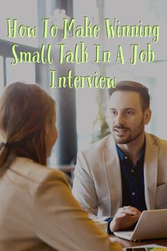 The truth is, small talk is actually anessential component of the interview process. Often, our very first and last impression, before and after the nuts and bolts of an interview takes place, is made over small talk. Let's review some effective strategies for making sure you put your best foot forward when making small talk in a job interview