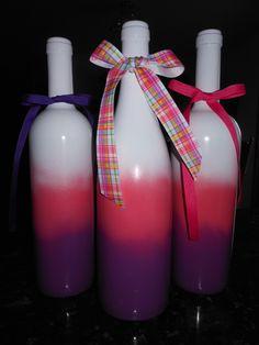 Easter Wine Bottles