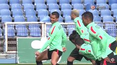 Cristiano Ronaldo Breaks Into Funny Dance During Practice Session Photos Video