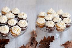 cinnamon chocolate cupcakes with mascarpone frosting - velvet cooking & baking: november 2013