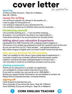 Tips to write a COVER LETTER in English #learnenglish https://plus.google.com/+AntriPartominjkosa/posts/E57Gg6ozMYs